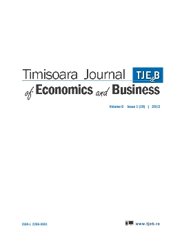 Summer issue of Timisoara Journal of Economics and Business: volume 6 (issue 19).